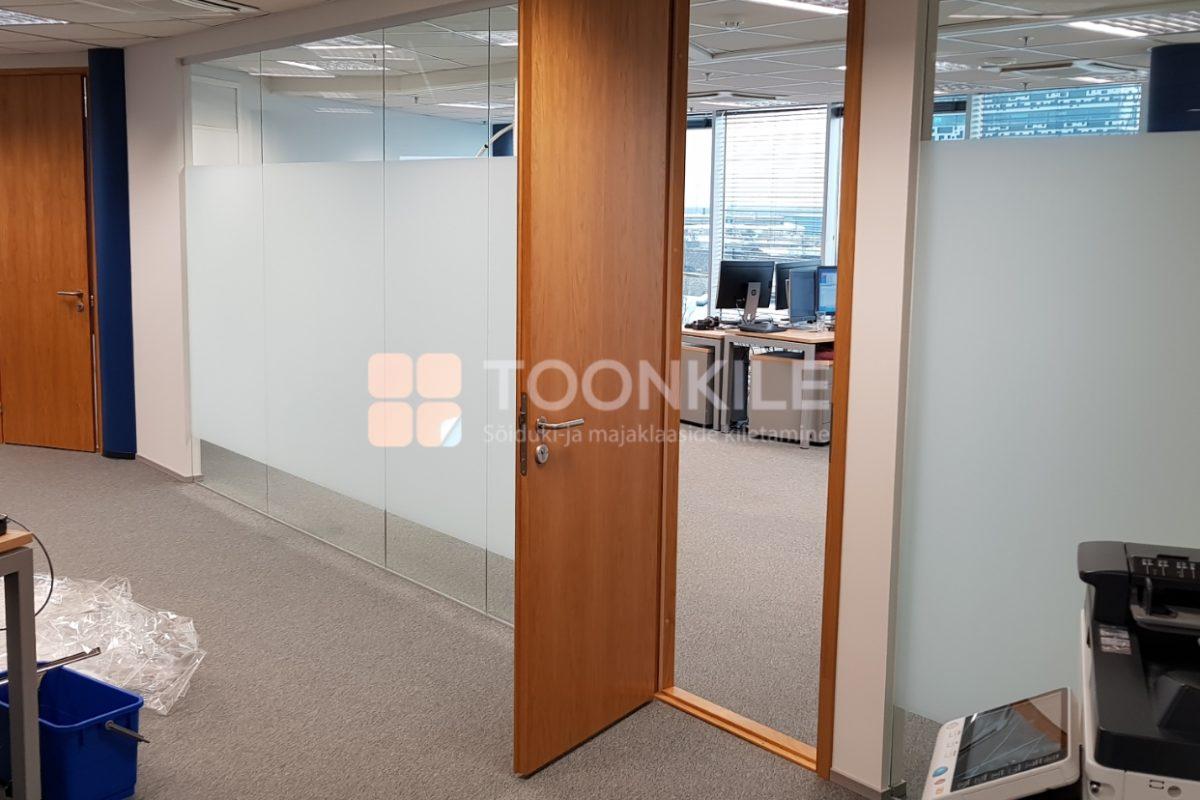 Mattkile osaline paigaldus kontori vaheseinale